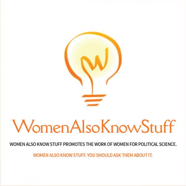 Women Also Know Stuff logo