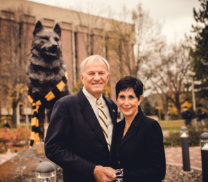 President Glenn Mroz and Mrs. Gail Mroz