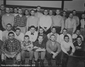 Participants in the 1955 Beard Contest