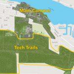 Map of Michigan Tech campus