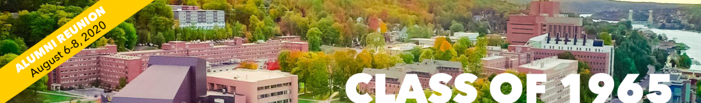 Michigan Tech campus from the air