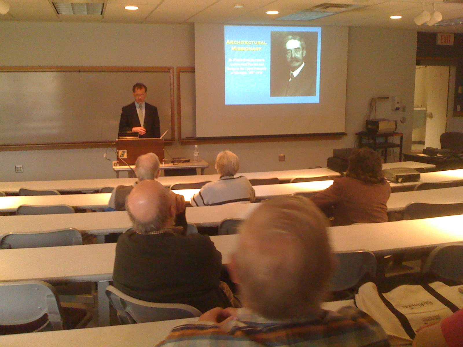 Steve Brisson speaks on the life and architectural work of Frederick Charlton.