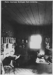 Kitchen, circa 1913