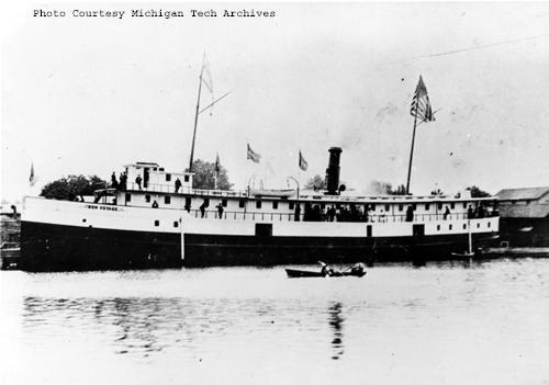 steamer bon voyage