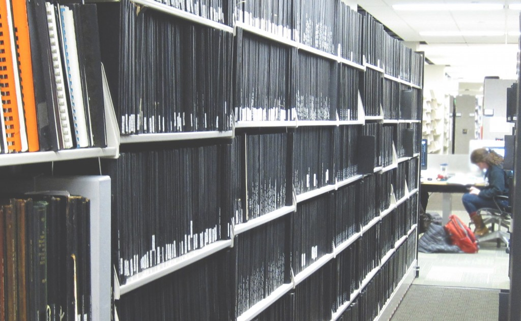 Archives' dissertations, theses and reports in their new location