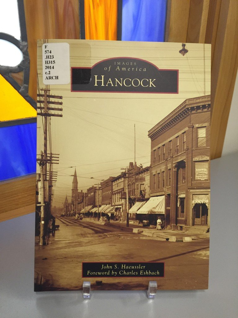 Please join us for local author, John Haeussler as he discusses the research process for his book Images of America book about Hancock.