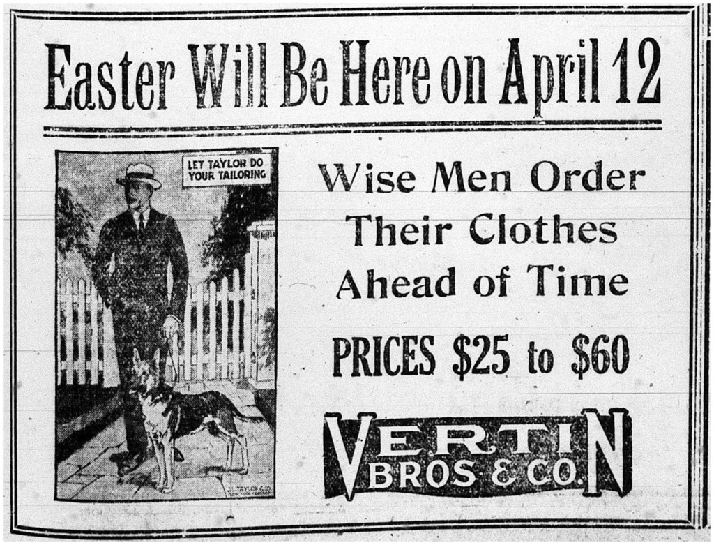 Printed in the Calumet News on March 30, 1925 on page 5
