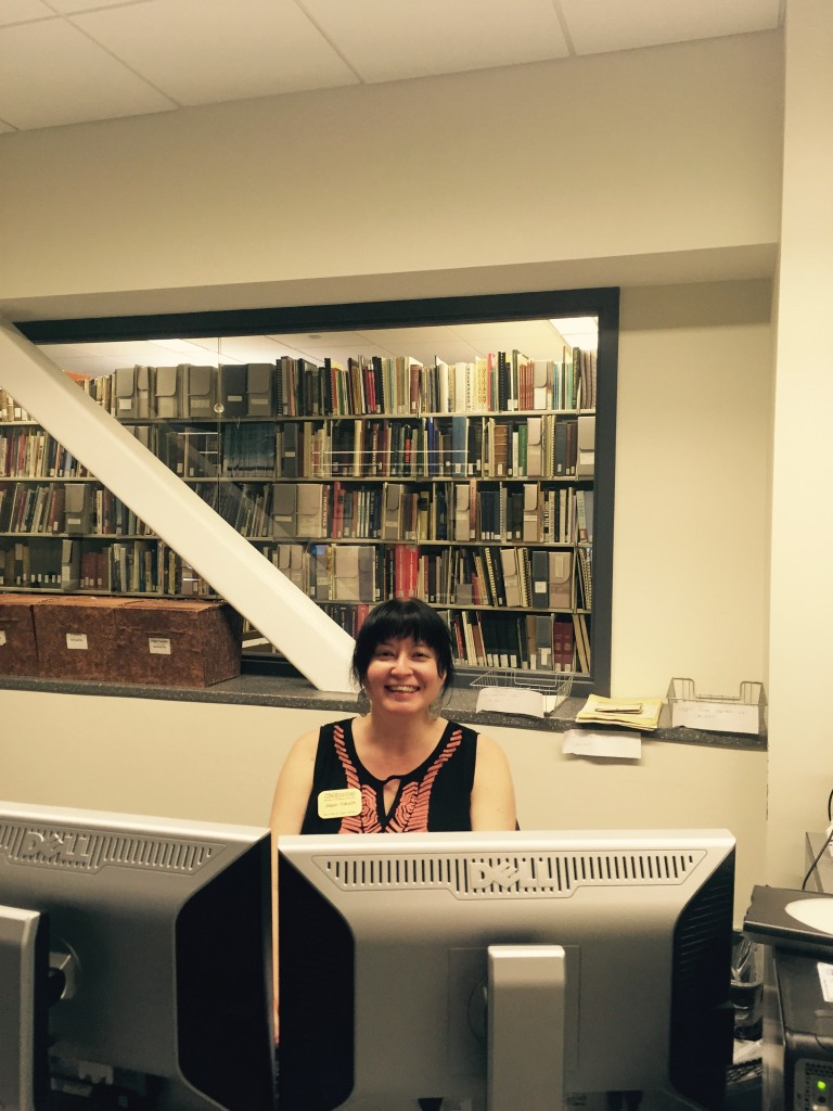 Our Friends of the Van Pelt Library Intern, Alison Fukuchi, has been a great asset during our busy summer season. She has learned the ropes of helping a wide variety of researchers and utilizing our various collections.
