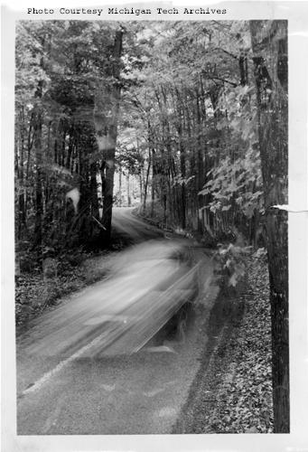 A scenic view in the Copper Country, taken by the Michigan Tourist Council in 1958.