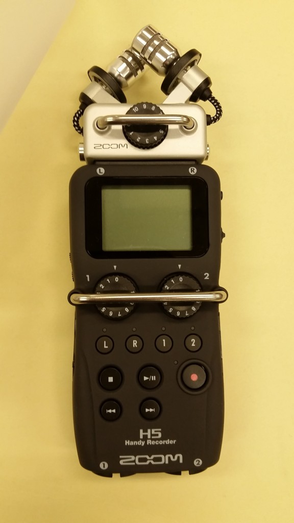 The Archive's Zoom H5 Handy Recorder