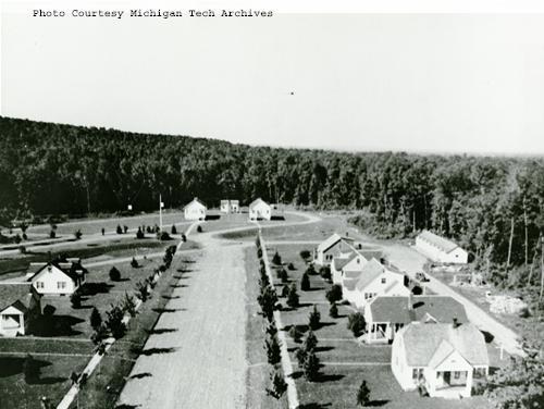 Ford's Alberta complex in Baraga County, Michigan.