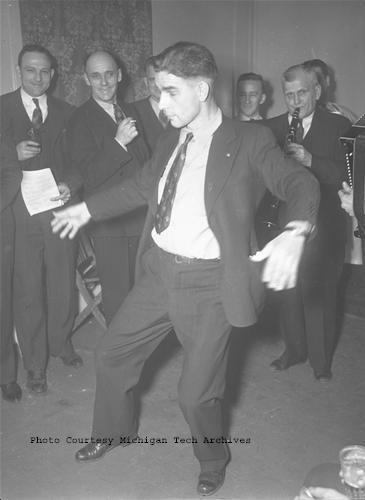 Festive dancing!