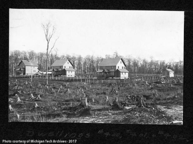 Winona, Michigan in 1909.
