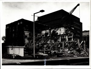 Razing of McNair, undated.