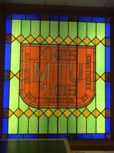 Michigan Technological University Centennial Window.