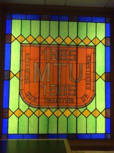Michigan Technological University Centennial Window.