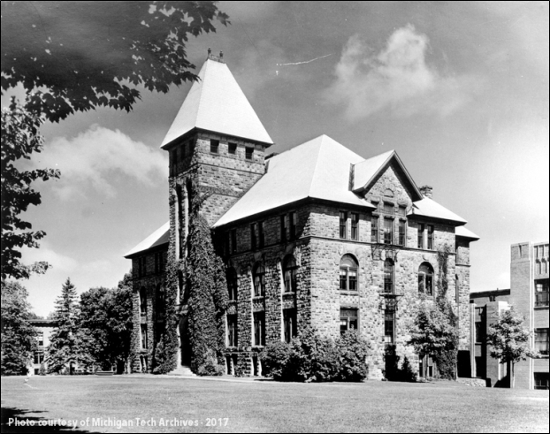 Hubbell Hall - From Copper Country Historical Images