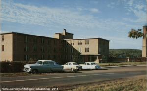 A view of the new Copper Country Sanatorium, built in 1950 and pictured here in 1955.
