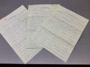 Love letters from the Ellen Carlson Correspondence collection.