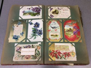 Sample of greeting cards from the Ellen Carlson Correspondence collection.