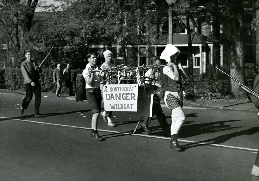Homecoming parade, 1948.