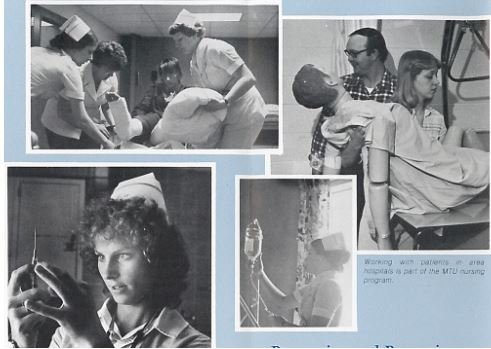 Image of nursing students from promotional brochure