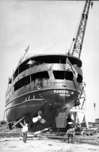 The Ranger III before launch.