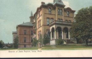 Image of brick prison building