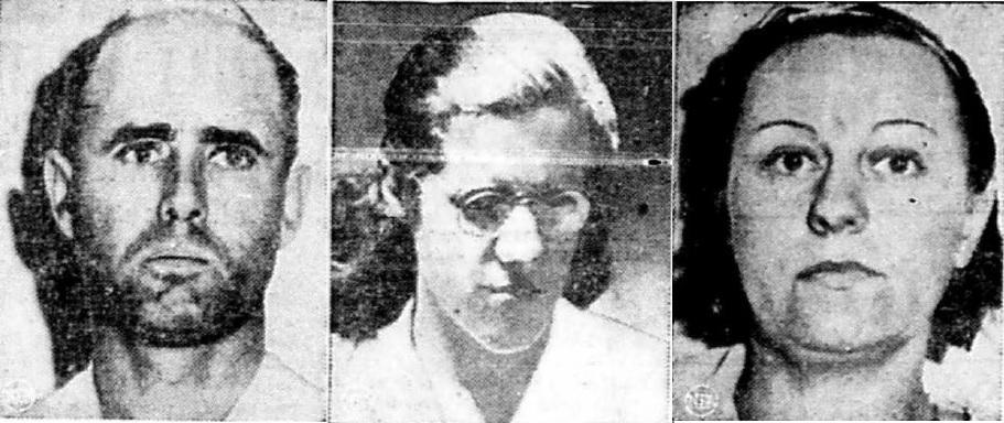 Image of Wilfred Pichette, Marian Doyle, and Laura Pichette