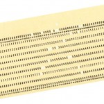 IBM punchcards