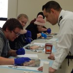 army suture lab