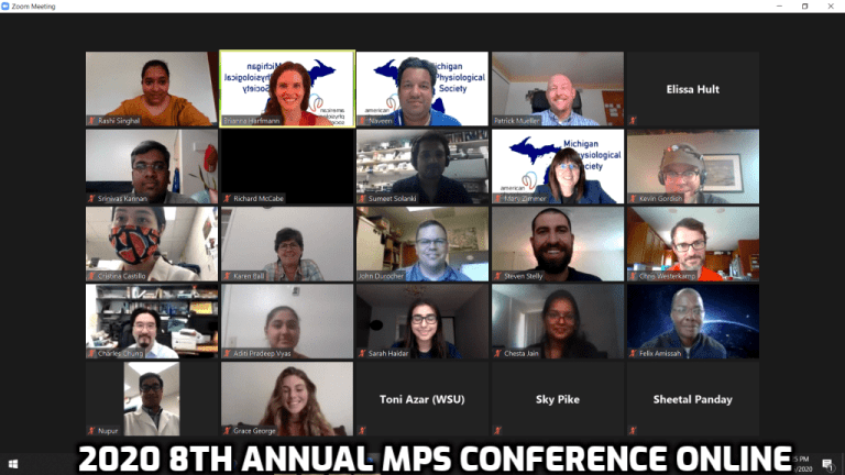 Zoom meeting screenshot of participants.