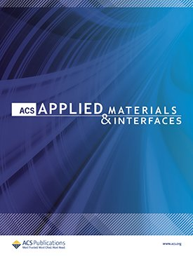 ACS Applied Materials and Interfaces cover.