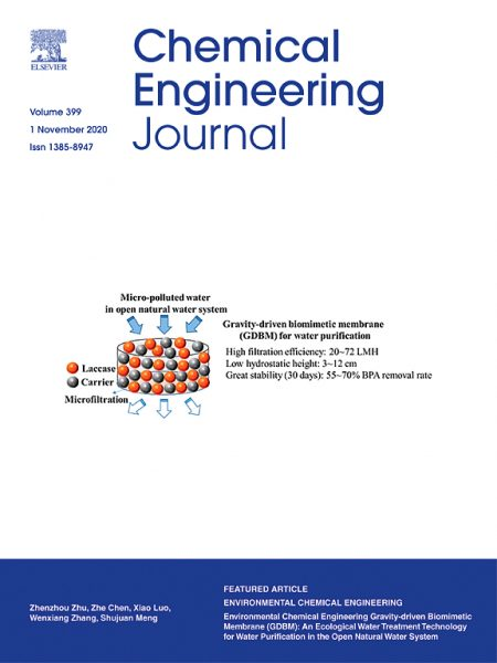 Chemical Engineering Journal cover.