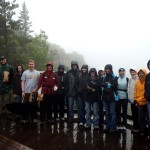 Hiking Group at the Porcupine Mountains