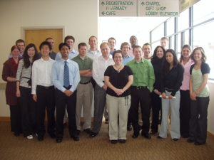 Tech MBA students at Portage Health