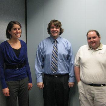Katie Wysocky, Michael Schmiermund, and Shawn Toutant Digital Marketing Plan Winners