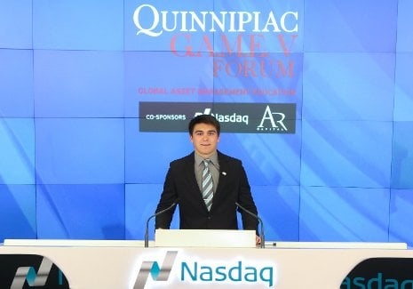 Cory Sullivan participating in Nasdaq closing