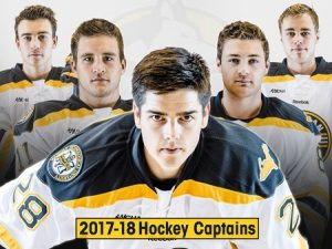 MTU 2017-18 Hockey Captains