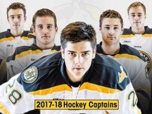 MTU 2017-18 Hockey Captains