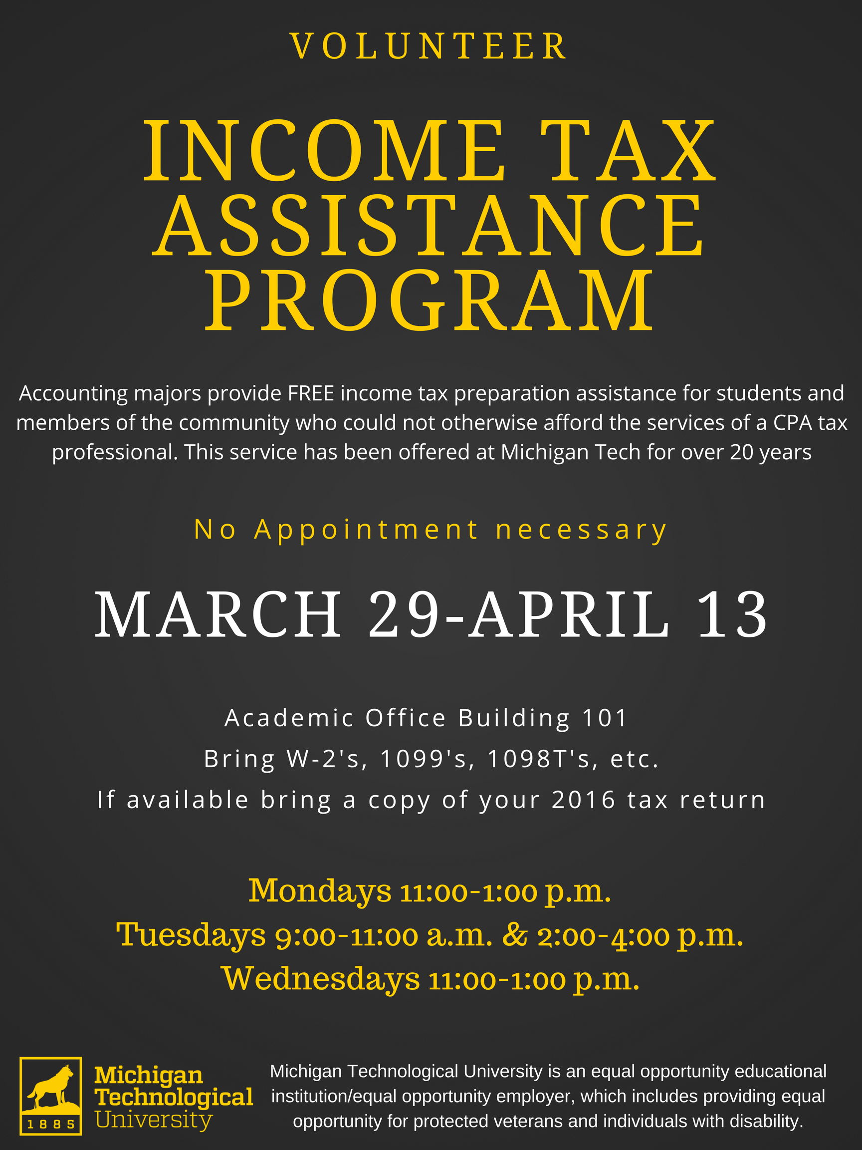 Volunteer Incoming Tax assistance Program