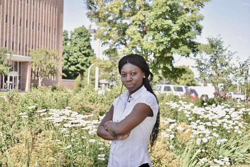 Michigan Tech graduate student Josephine Amponsem