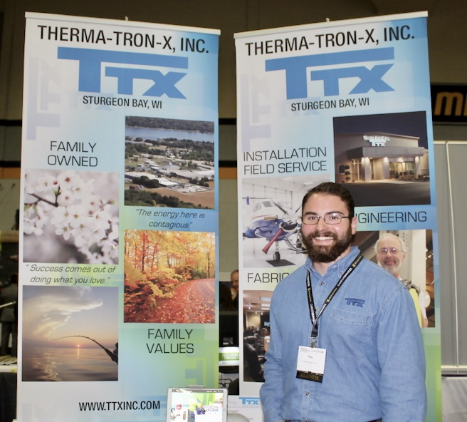 Photo of alumni Tim Spehar at Career Fair