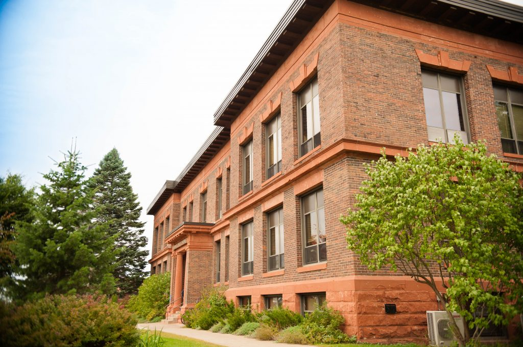 Exterior of Academic Office Building