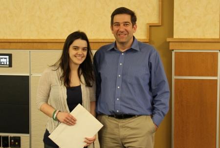 Kimberly-Clark Communication Award: Megan Williams
