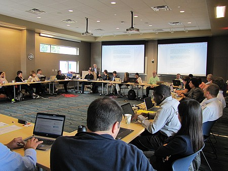 Pan American Researchers Gather in Houghton
