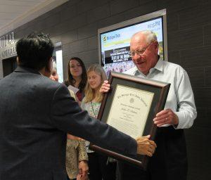 Dr. John Patton Award Presentation