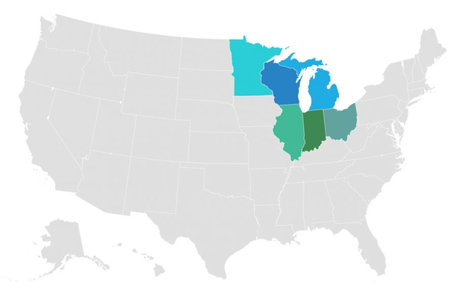 US EPA Region 5 States