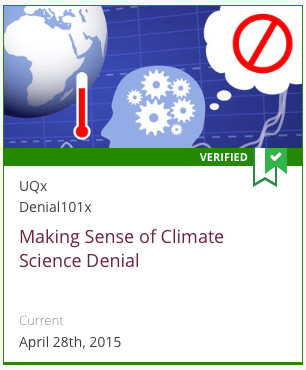 UQx Climate Science Denial