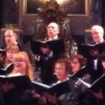 Brad Baltensperger at the Concert Choir 2013